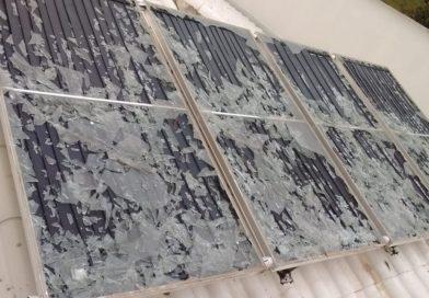 Chuva de Granizo: Como proteger o aquecedor solar
