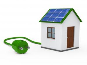 o que e energia solar na casa